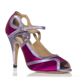 "Chaussure de danse Label Latin""Laura"" rose"