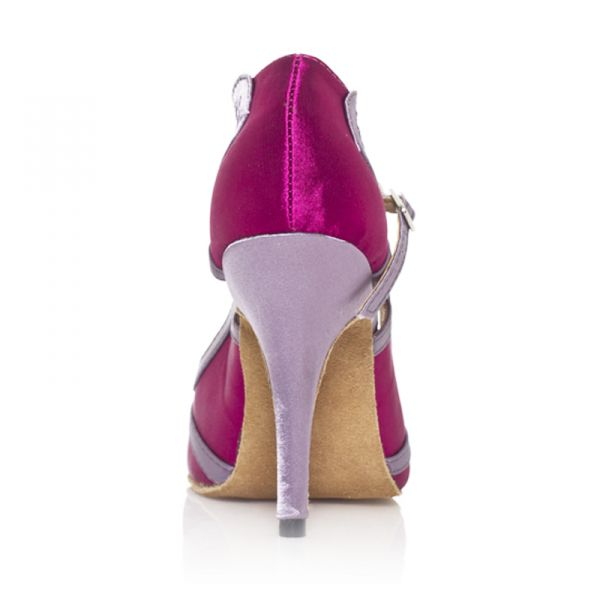 Chaussure A Talon Fushia