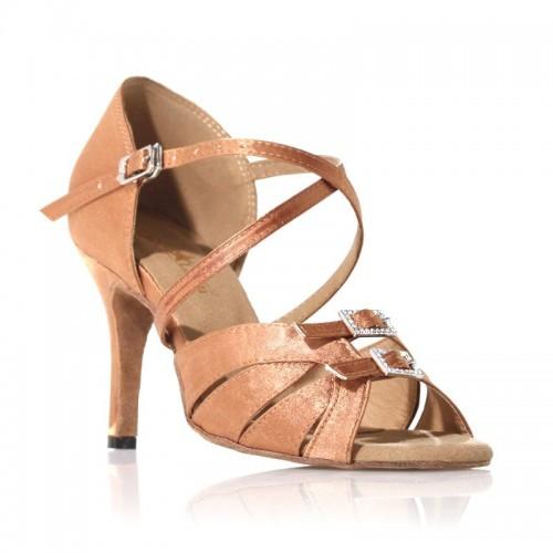 """Chaussures de danse Label Latin""""Diamond"""" cuivré"""