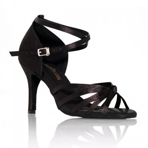 """Chaussures de danse Label Latin""""On 1"""" noire"""