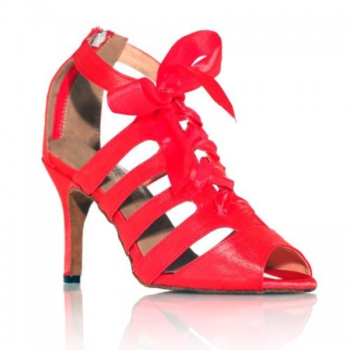 "Chaussures de danse Label Latin""Laetitia"" rouge"