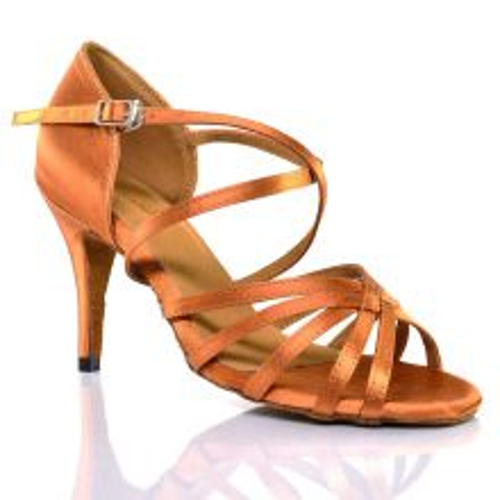 "Chaussures de danse salsa Label Latin ""Philipa tan"""