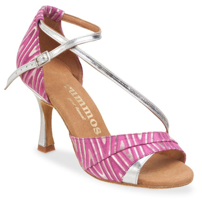 "Chaussures de danse Rummos ""Ania"" rose flashpink argent"