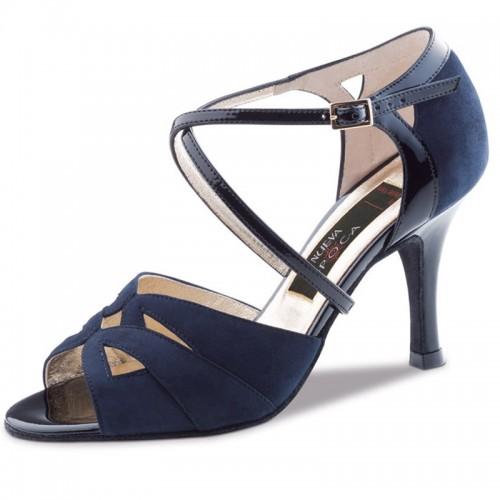 """Chaussures de danse Nueva Epoca Werner Kern """"Rosita"""" Bleu navy"""