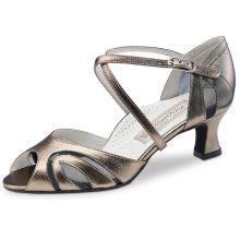 "Chaussures de danse Werner Kern ""Grat"" 5 cm cuir or"