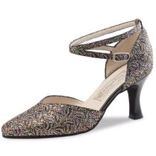 "Chaussures de danse Werner Kern ""Betty"" 6,5 cm broca multicolor"