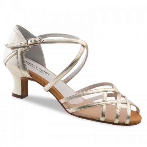 "Chaussures de danse Anna Kern ""Brava"" 5 cm cuir or"