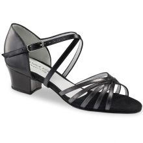 "Chaussures de danse Anna Kern ""Roma"" 3,5 cm cm cuir noir"
