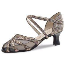 """Chaussures de danse Werner Kern """"Liz"""" 5,5 cm broca multicolore"""
