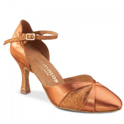 "Chaussures de danse Elite Rummos ""Niora"" satin tan"