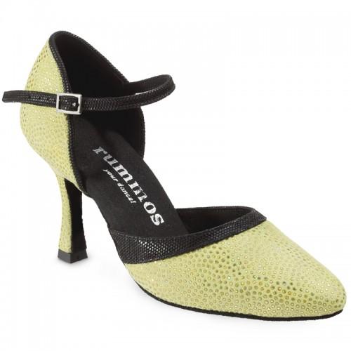 "Chaussures de danse Rummos ""Brenda"" cuir vert"
