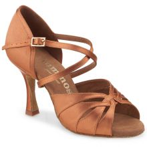 "Chaussures de danse Rummos ""Salena"" satin tan"