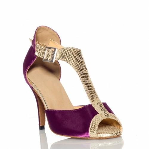 "Chaussures de danse salsa Label Latin ""Anastasia violette"""