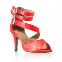 """Chaussure de danse Label Latin""""Isabella"""" rouge"""