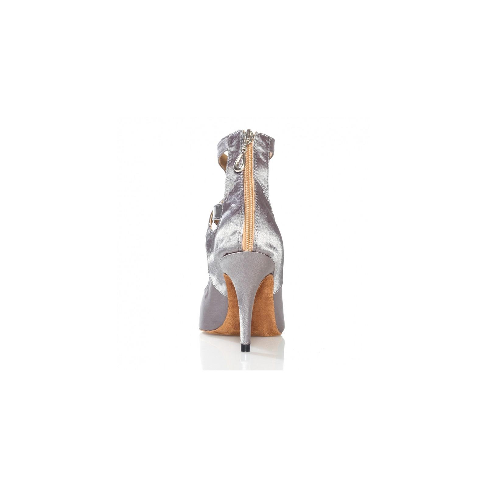 Latin De Chaussures Kizomba Danse Label Boot Argent So A5RLc3q4j