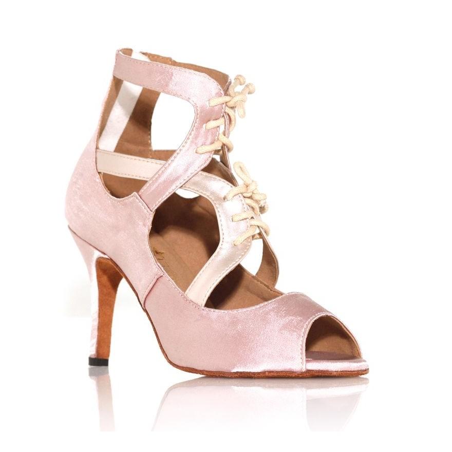 """Chaussure de danse Label Latin """"So Boots"""" beige rosé"""