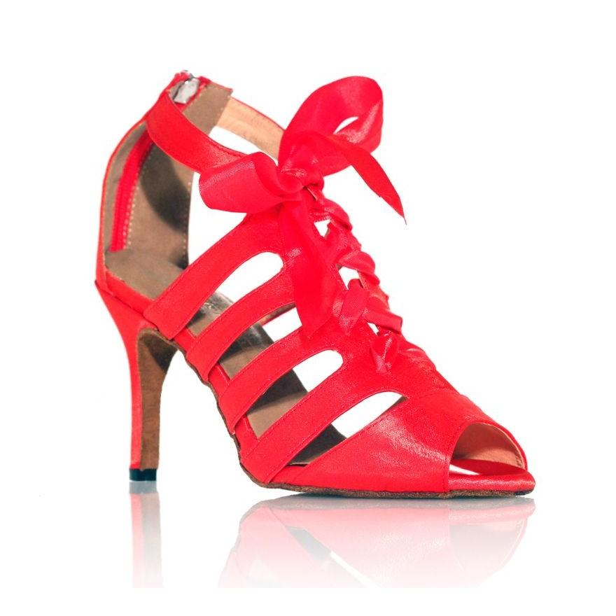 "Chaussure de danse Label Latin""Laetitia"" rouge"
