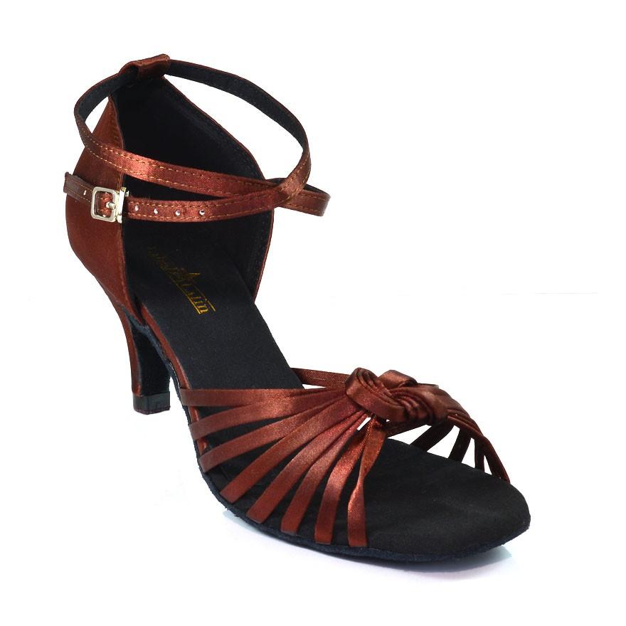 "Chaussures de danse Label Latin ""Strass"" bleu turquoise"