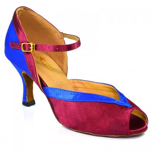 """Chaussures de danse Label Latin""""Florence"""" bleu violet"""
