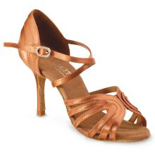 """Chaussures de danse Elite Rummos """"Barbara"""" satin tan"""