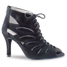 "Chaussures de danse Anna Kern ""Zeta"" 7,5 cm daim noir"