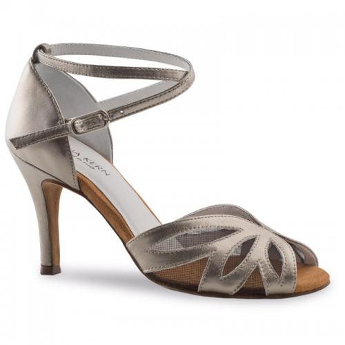 "Chaussures de danse Anna Kern ""Rosella"" 7,5 cm cuir or antique"