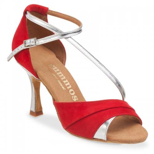 "Chaussures de danse Rummos ""Ania"" nubuck rouge"