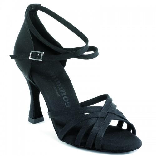 "Chaussures de danse Rummos ""Fabia"" satin noir"