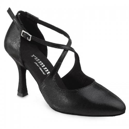 "Chaussures de danse Rummos ""Olivia"" cuir noir"
