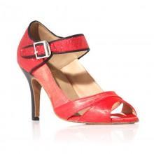 "Chaussure de danse ""Clara"" Rouge"