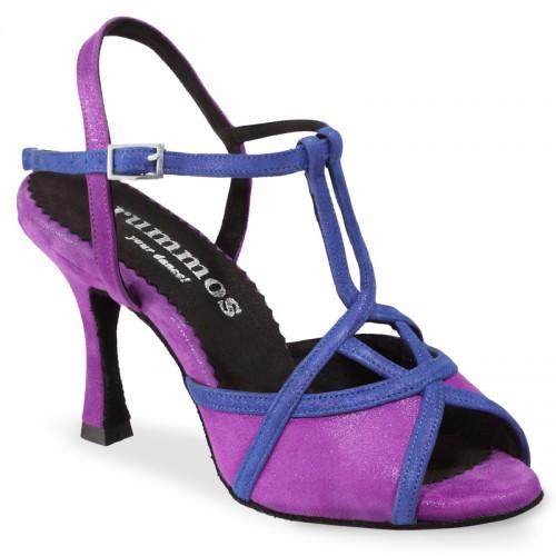"Chaussures de danse Rummos ""Cuore"" cuir lilas"