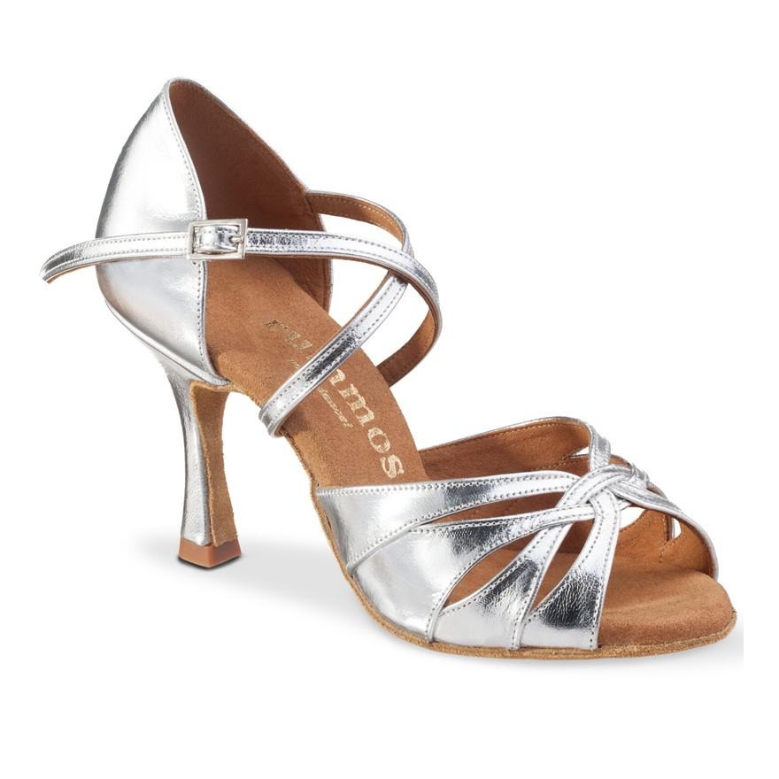 "Chaussures de danse Rummos ""Selma"" cuir argent"