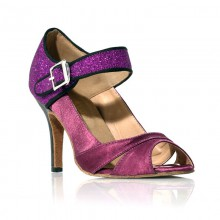 """Chaussure de danse """"Clara"""" violette"""