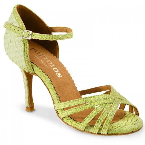 """Chaussures de danse Rummos Marylin"""" cuir vert"""