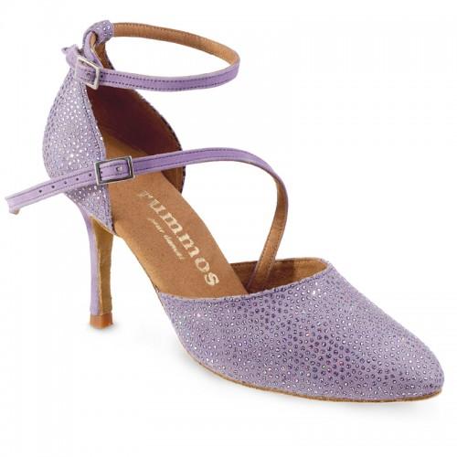 "Chaussures de danse Rummos ""Mireia"" cuir lila"