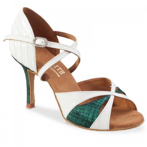 """Chaussures de danse Rummos """"Paloma"""" cuir blanc"""