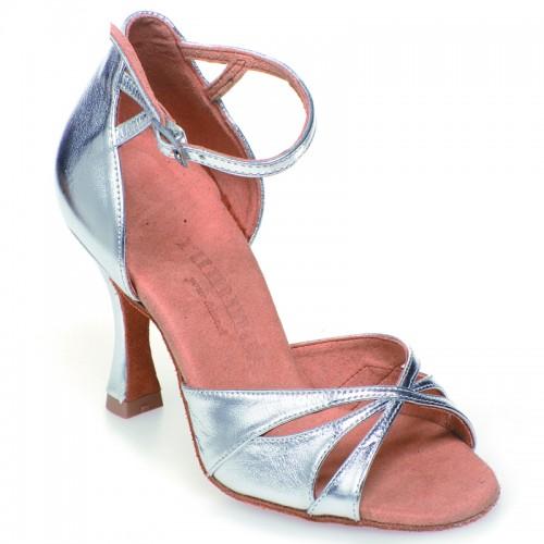 "Chaussures de danse Rummos ""Kamila"" cuir argent"