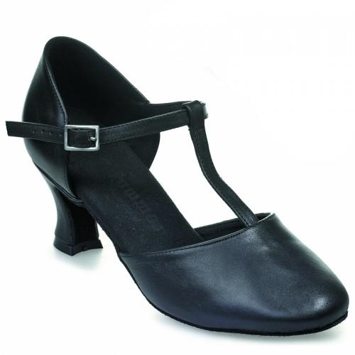 "Chaussures de danse Rummos ""Tania"" cuir noir"
