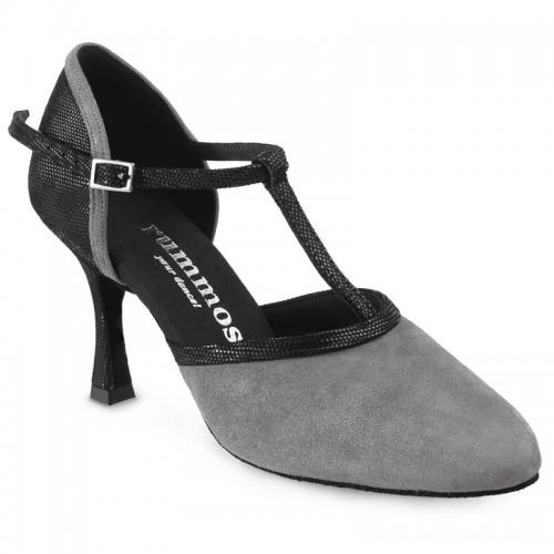 "Chaussures de danse Rummos ""Tania"" nubuck gris"