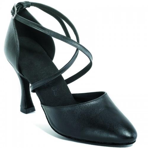 """Chaussures de danse Rummos """"Krista"""" cuir noir"""