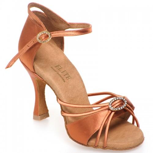 "Chaussures de danse Elite Rummos ""Bella"" satin tan"