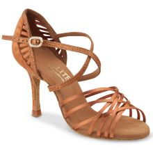"Chaussures de danse Elite Rummos ""Sara"" satin tan"