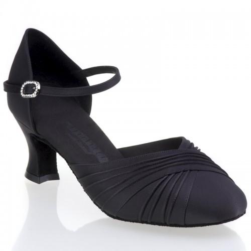 "Chaussures de danse Rummos ""Prisca"" satin noir"