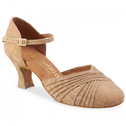 "Chaussures de danse Rummos ""Prisca"" cuir tan Nehru"