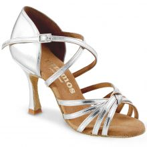 "Chaussures de danse Rummos ""Carola"" cuir argent"