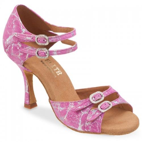 """Chaussures de danseElite Rummos """"Elena"""" cuir rose"""