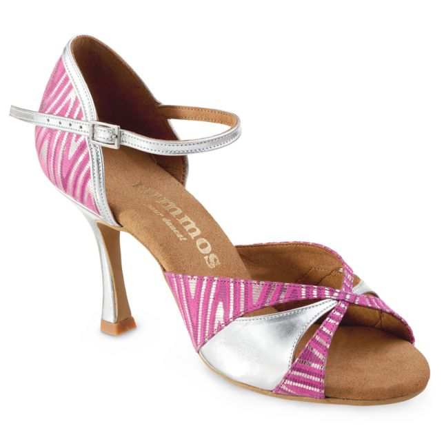 "Chaussures de danse Rummos ""Krista Kizomba""cuir rose"