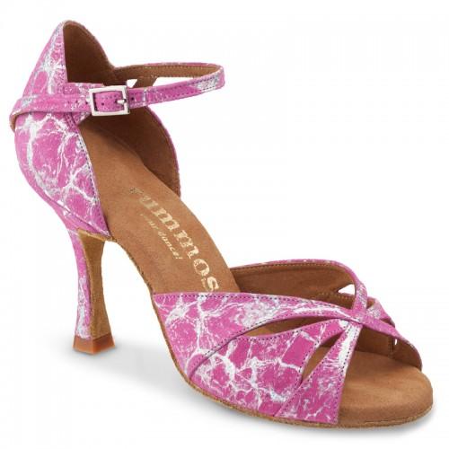 "Chaussures de danse Rummos ""Kamila"" cuir rose"