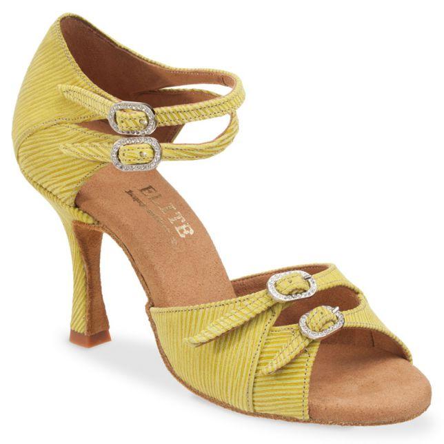 "Chaussures de danse Elite Rummos ""Elena"" cuir vert"