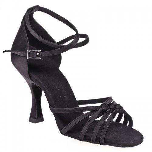 """Chaussures de danse Rummos """"Melissa"""" satin noir"""